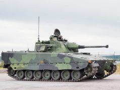 Swedish Army's upgraded CV90 combat vehicle