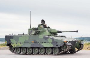 Swedish Army's upgraded CV90 combat vehicle