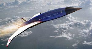 Hermeus Mach 5 jet
