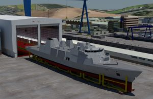 Type 31 frigate graphic