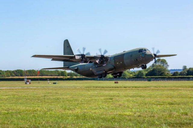 UK RAF C-130J