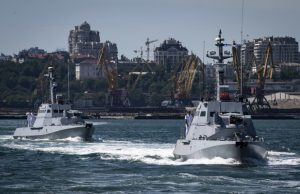 Ukrainian Gyurza-M patrol boats