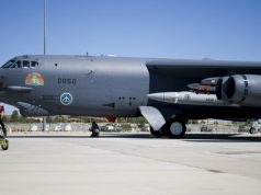 Stratofortress with hypersonic weapon