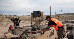 US Army robotic combat vehicle demos
