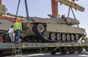 "US Marine Corps M1A1 ""Abrams"" tank"