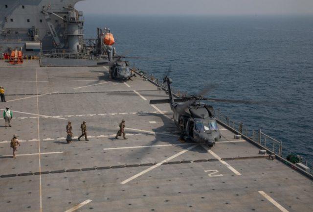 UAE Black Hawk helicopters
