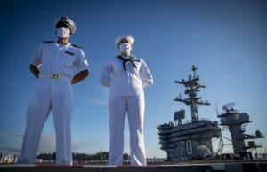 USS Carl Vinson with F-35C capability
