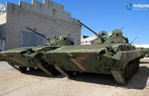 Ukrainian BMP-2 IFVs
