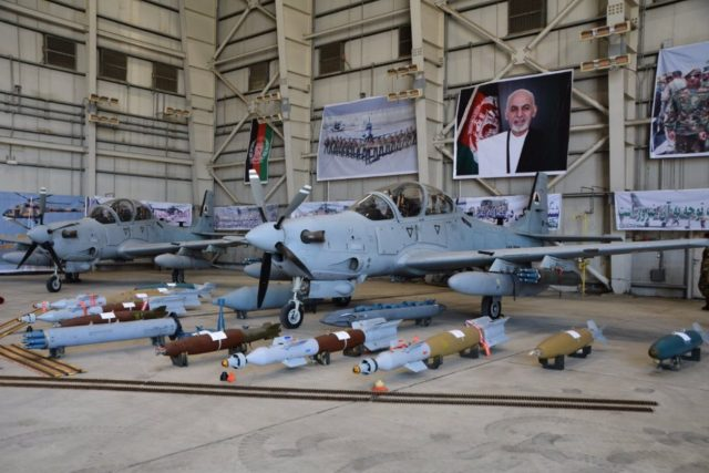 Afghan Air Force Super Tucano
