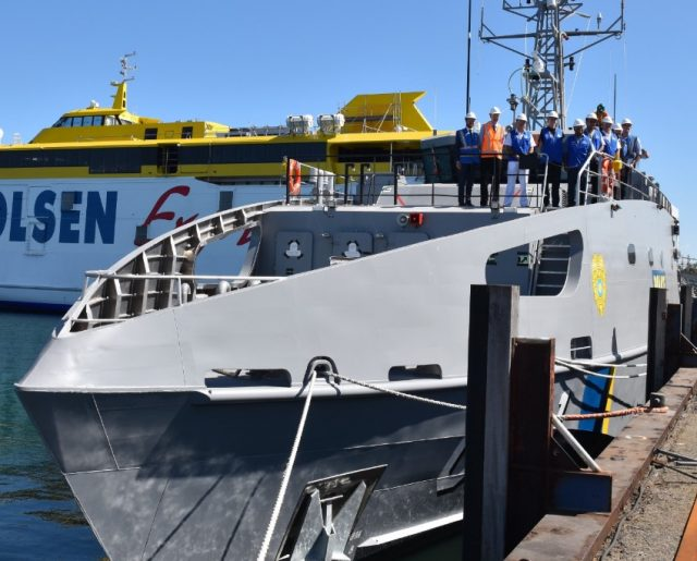 PSS President HI Remeliik II patrol boat