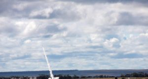 Australian Dart rocket launch