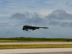B-2 Spirit bomber during US-Australian exercise in August 2020
