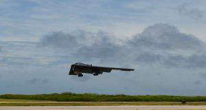 B-2 Spirit bomber during US-Australian exercise in August 2020