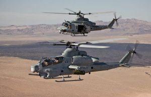 Czech Air Force AH-1Z and UH-1Y helicopters