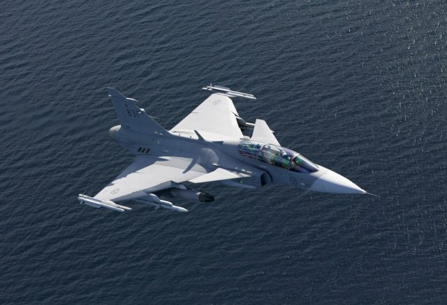 Gripen is one of the potential future Croatian Air Force fighters