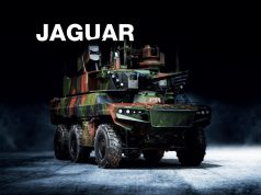 Jaguar armored vehicle