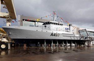Nigerian Navy hydrographic survey vessel Lana