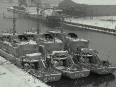 Latvian Navy mine countermeasure vessels