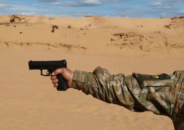SFP9 pistol Lithuania