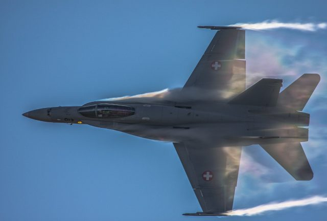 Swiss Air Force Hornet