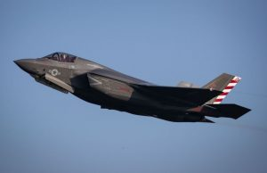 US Marine Corps F-35B in the UK