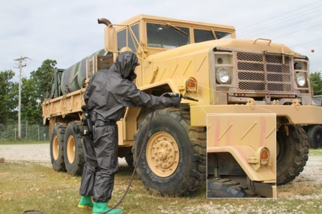 CIDAS detects chemical weapons at low concentration levels