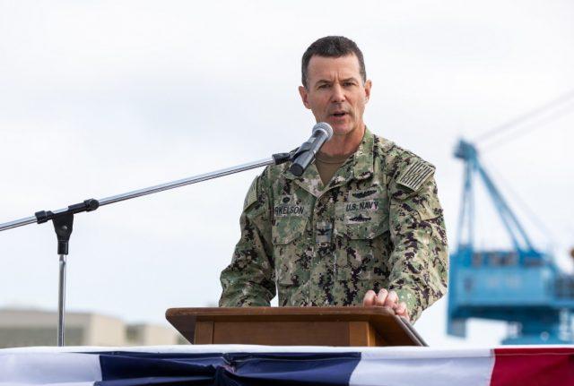 Norfolk Naval Shipyard Commander