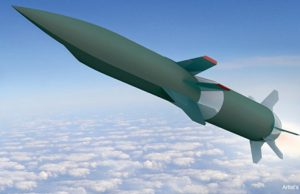 HAWC hypersonic weapon illustration