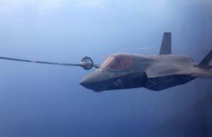 F-35B air to air refueling