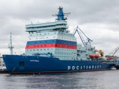 Project 22220 nuclear-powered icebreaker Arktika