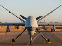 MQ-9 Reaper with GBU-12 bombs