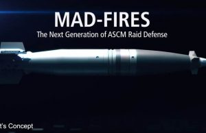 Artist's concept of MAD-FIRES round