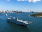 Navy ships in Sydney