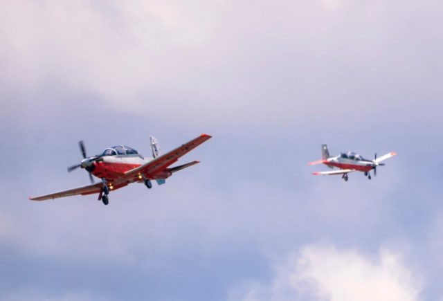 US Navy Texan II