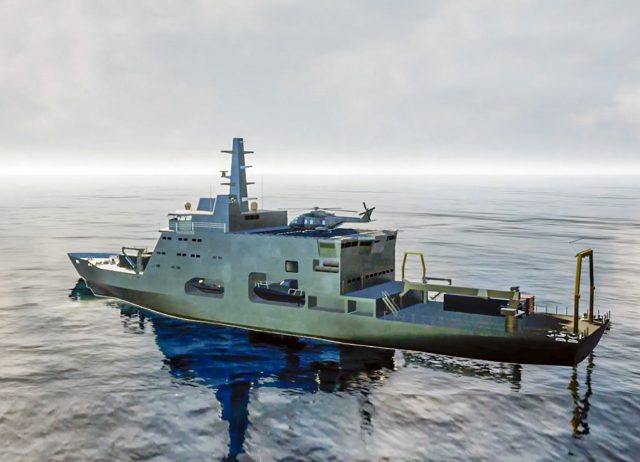 Italian Navy future hydrographic vessel