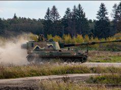 Estonian K9 howitzer