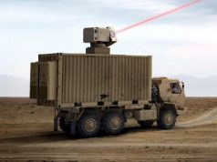High energy laser weapon