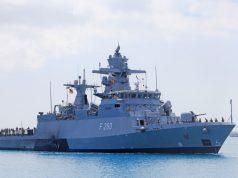 German Navy Braunschweig-class corvette