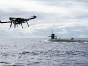 UAV delivery to submarines