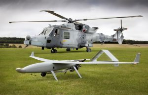 AW159 Wildcat during MUMT demonstration with UAV system