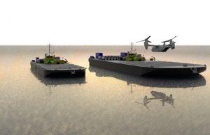 Autonomous refueling barge concept