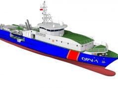 Polish Coast Guard offshore patrol vessel