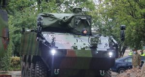Romanian Army Piranha 5