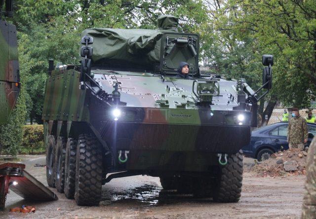 Romanian Army Piranha 5