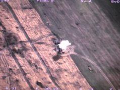 CH-92A UAS striking ground target
