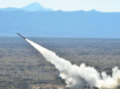 Patriot missile system launch