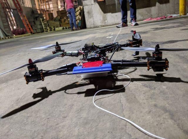US Army autonomously recharging drones