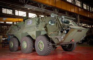 Fox CBRN vehicle