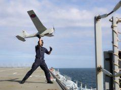 Puma UAS on HMS Albion