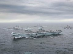 HMS Queen Elizabeth carrier strike group